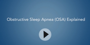 Obstructive Sleep Apnea Video